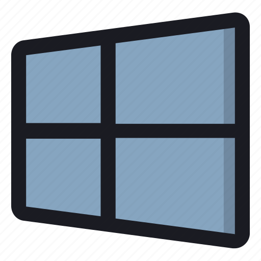 computer, program, system, window, windows icon
