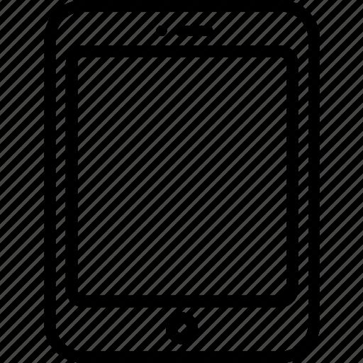 apple, device, ipad, tablet, techno, technology icon