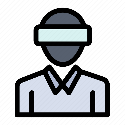 Glasses, man, motion, reality, technology icon - Download on Iconfinder