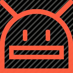 android, google, head, logo, mobile, os, robot icon