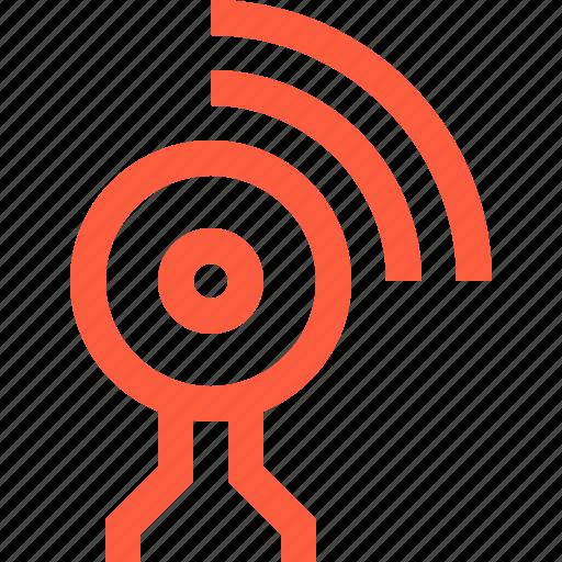 call, camera, computer, connection, live, stream, video, web, webcam, wifi, wireless icon