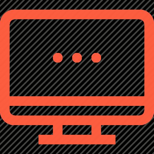 computer, desktop, monitor, pc, personal, workstation icon