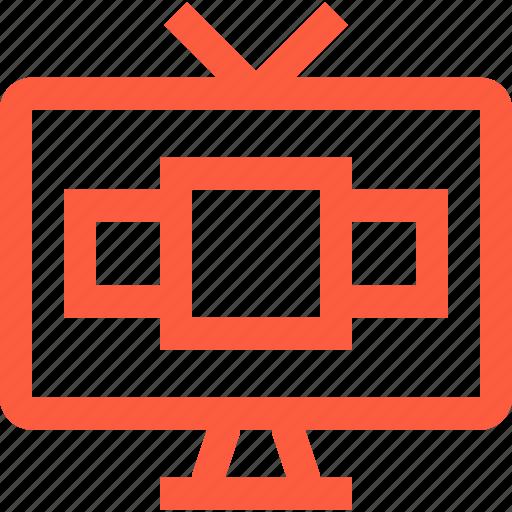 content, internet, iptv, media, smart, television, tv icon
