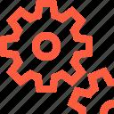 cogs, cogwheel, controls, mechanism, options, preferences, settings icon