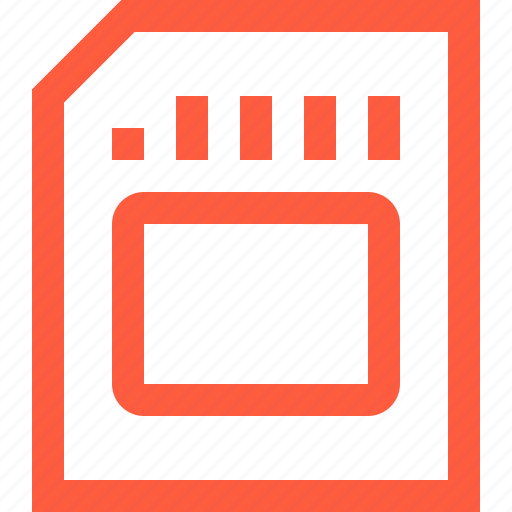 card, data, format, memory, portable, sd, storage icon