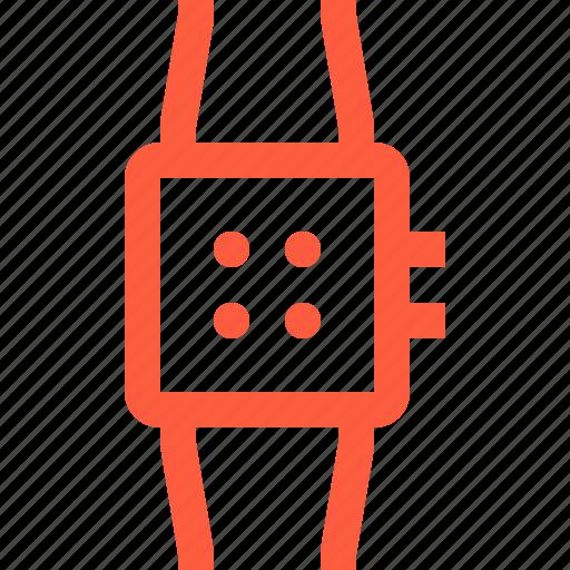 bracelet, electronic, gadget, smart, smartwatch, watch, wearable icon
