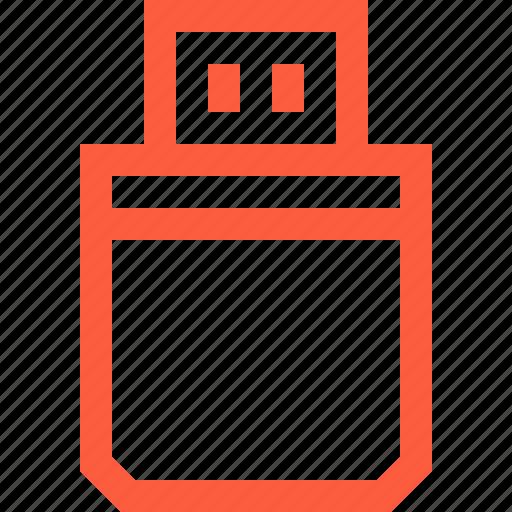 drive, flash, memory, port, storage, usb icon