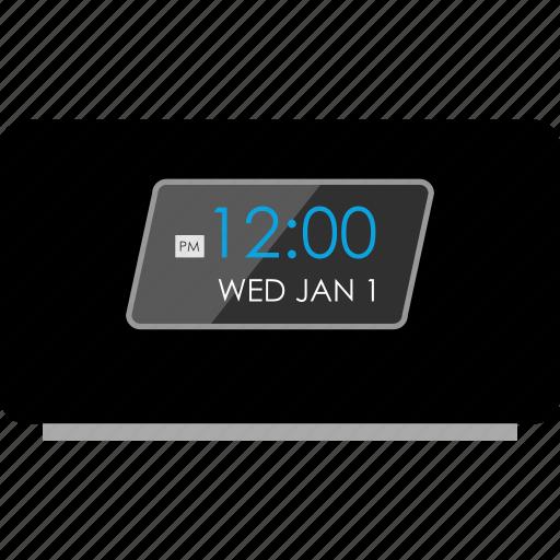 alamar, clock, time, wakeup icon