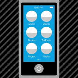apple, ipad, nano, small icon