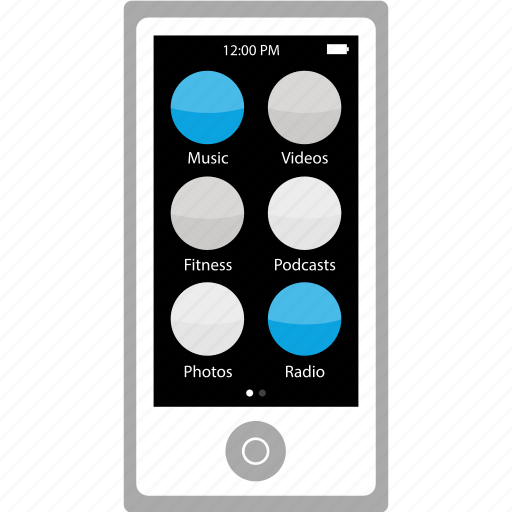 audio, ipod, music, nano icon