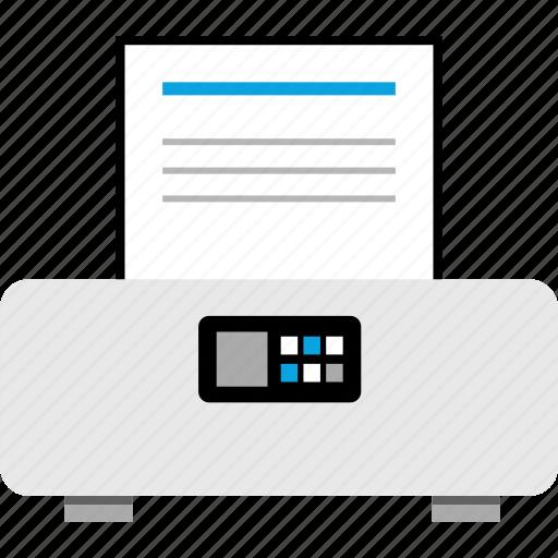 canon, hp, printer, wireless icon