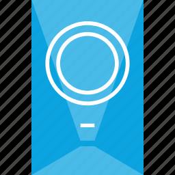future, sleek, speaker icon