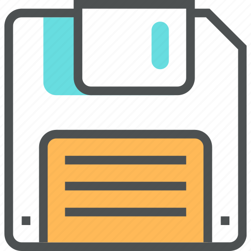 archive, data, disk, diskette, floppy, guardar, memory, save, storage icon