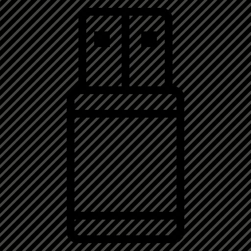 data, drive, electronic, flash, memory, technology icon