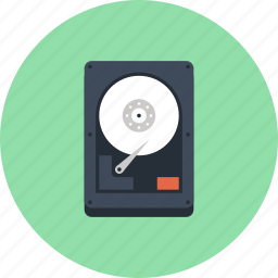 data, disk, drive, hard, hardware, hdd, storage icon