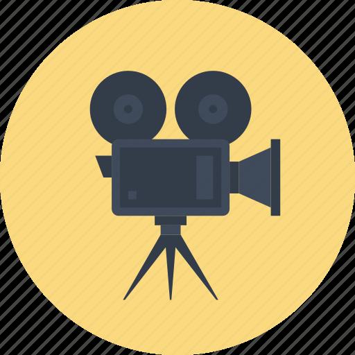 camera, cinema, film, media, movie, multimedia, video icon