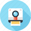 camera, digital, media, multimedia, photo, photography, polaroid icon