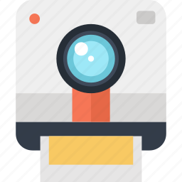 camera, digital, media, multimedia, photo, photography, polaroid icon