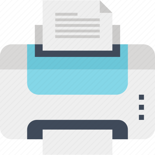 Device, hardware, office, output, paper, print, printer icon - Download on Iconfinder