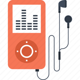 device, ipod, media, mp3, multimedia, music, player icon