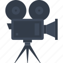 camera, cinema, film, media, movie, multimedia, video icon