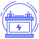 automotive battery, battery, battery status, car battery, power battery, ups battery icon