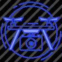 drone camera, drone photography, drone surveillance, drone technology, drone video camera, quadcopter icon
