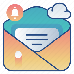 alert, email, message, notification icon