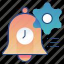 alert, notification, options, settings icon
