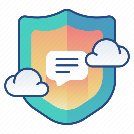 chat, privacy, secured, texting icon