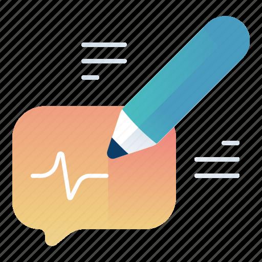 create, message, new, write icon