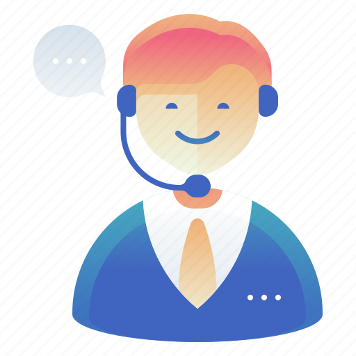 customer, male, man, support icon