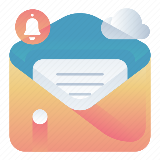 email, mail, message, notification icon