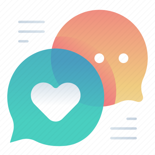 chat, love, message, text icon