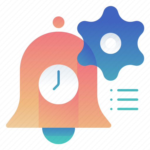 alarm, notification, options, settings icon