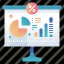 percentage, precentage, statistic, white board
