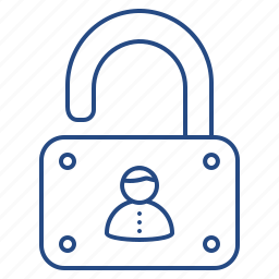 lock, privacy, security, user icon