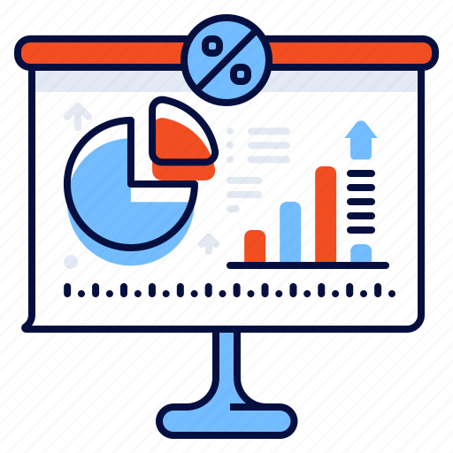 Analytics, presentation, statistic, white board icon - Download on Iconfinder