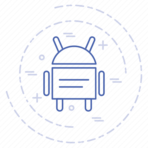android, digital, technology icon