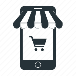 app, cart, market, mobile, shop, shopping, store icon