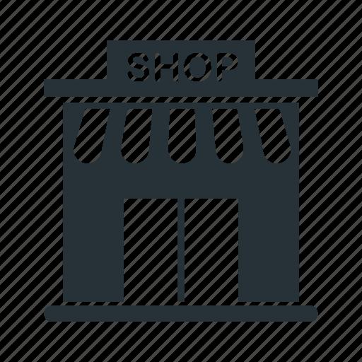 boutique, market, mini, shop, store icon