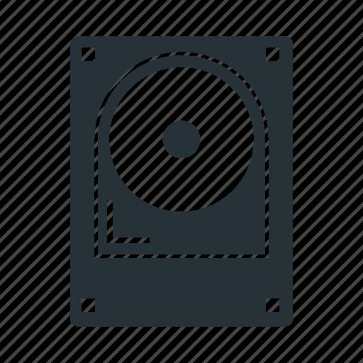 disc, drive, hard, memory, storage icon