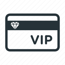 card, diamond, member, premium, vip icon