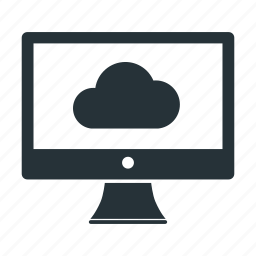 cloud, computer, database, monitor, network, server, storage icon