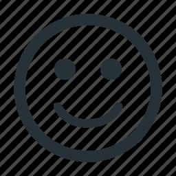 enjoy, happy, head, people, smile icon