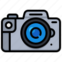 camera, digital, dslr, photography, technology icon
