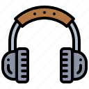 earphone, headphone, headset, technology icon