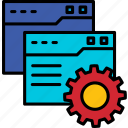 website, setting, web, development, application, program, custom