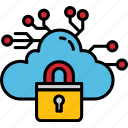 cloud, connect, internet, data, protection, network, cybersecurity, security