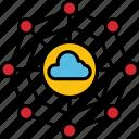 cloud, internet, network, technology, web, connect